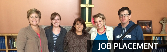 job placement services for youth ministers