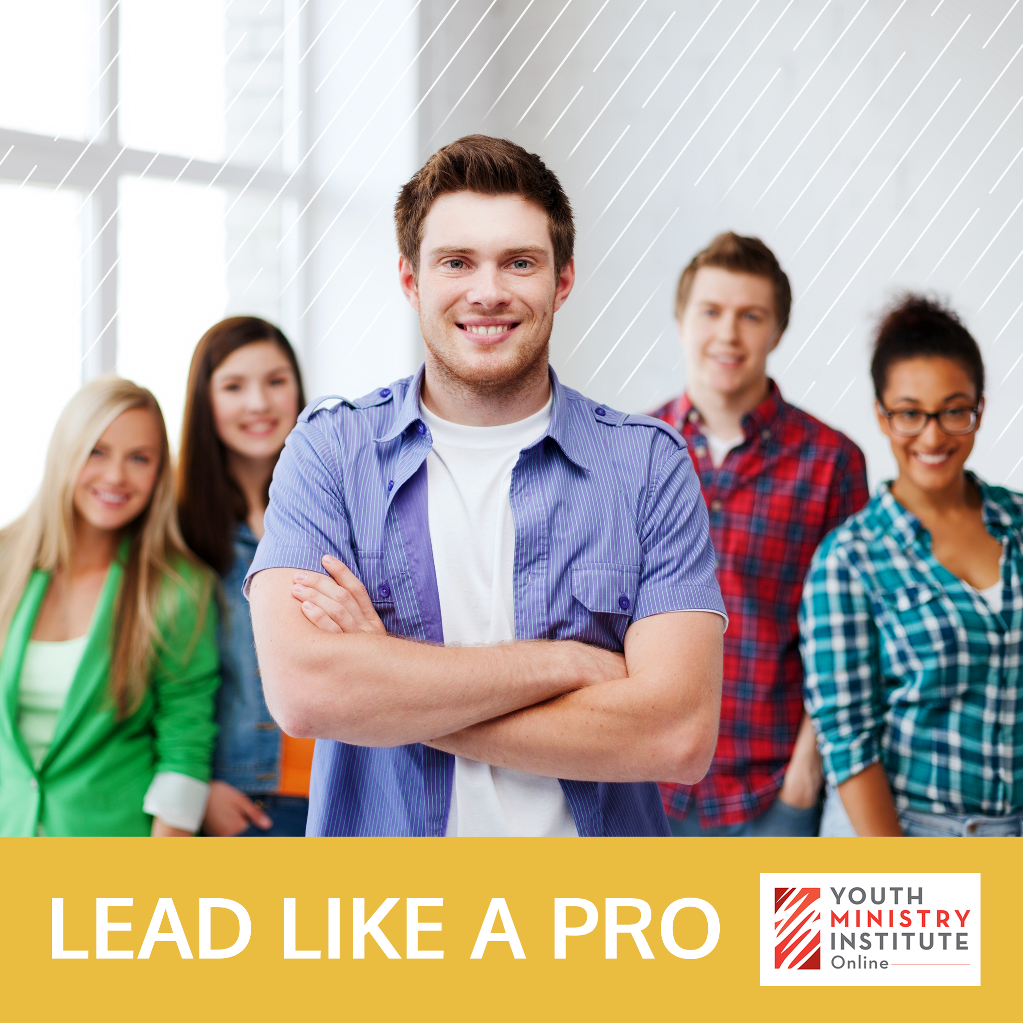 Youth Ministry Online course on how to develop as a leader.