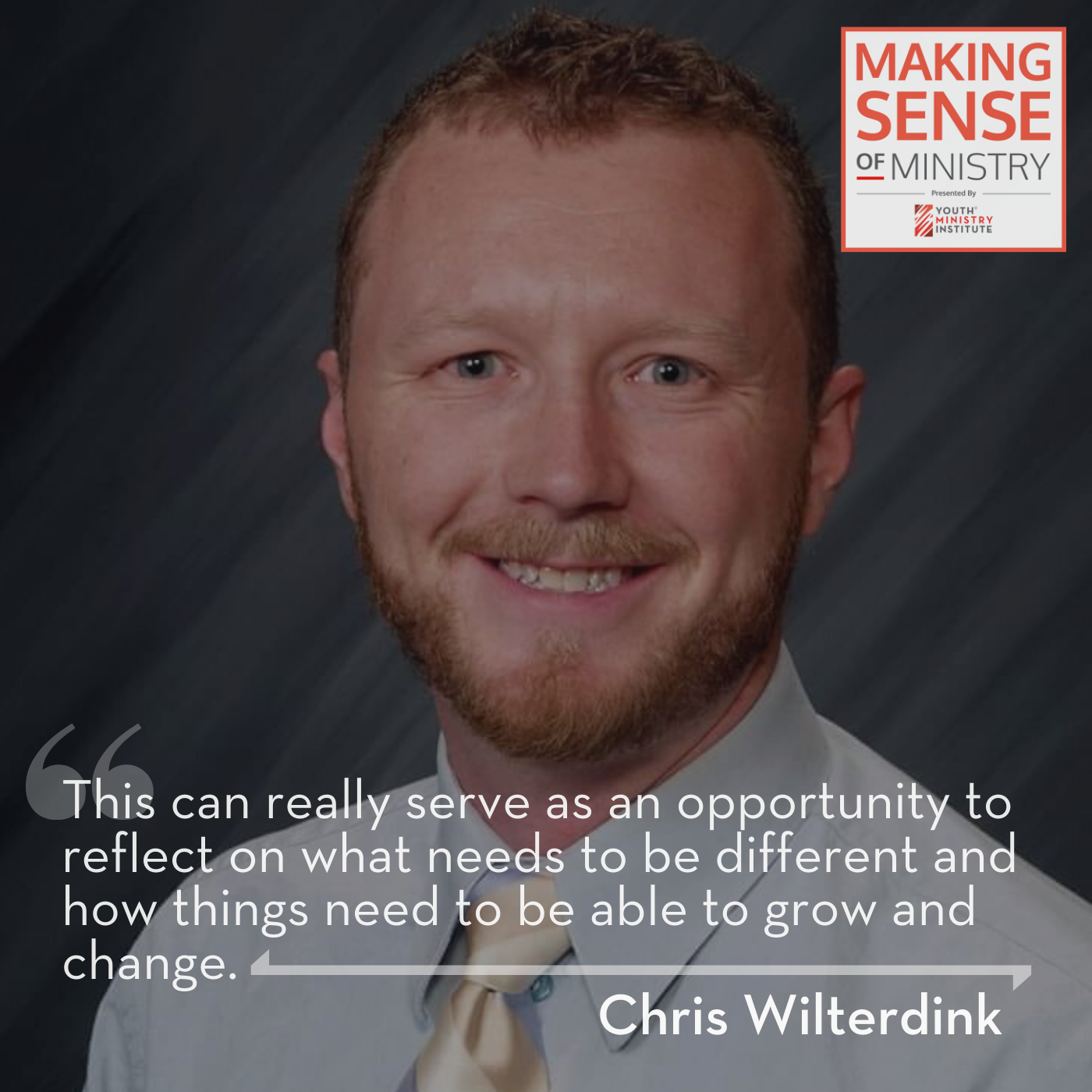 Chris Wilterdink form Young People's Ministries discusses faith formation during Covid19