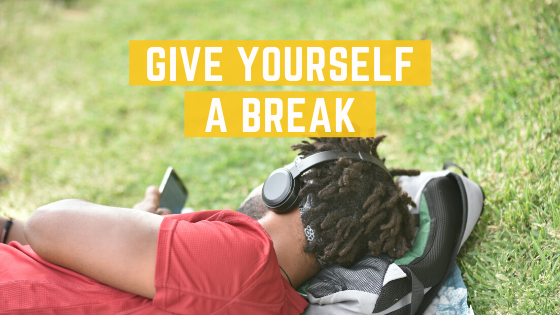 Give Yourself A Break - a man resting
