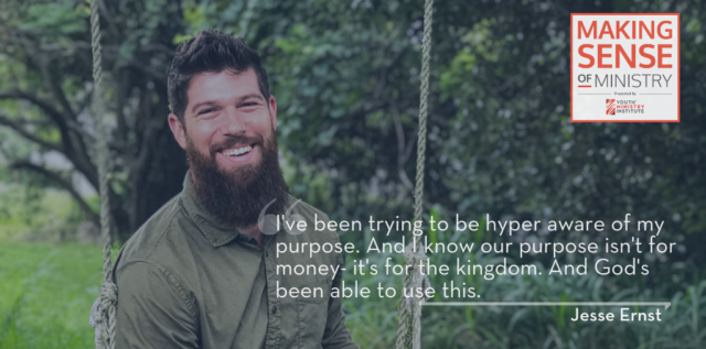 Jesse Ernst on starting a small business and more